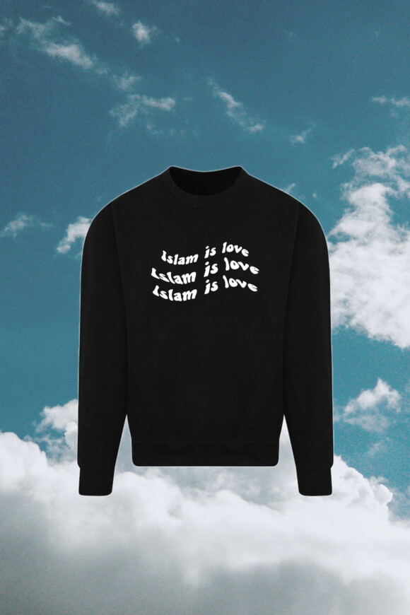 AKHT – Islam is love sweatshirt
